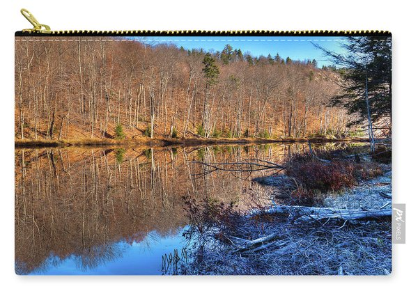 November Reflections - Bald Mountain Pond Carry-all Pouch