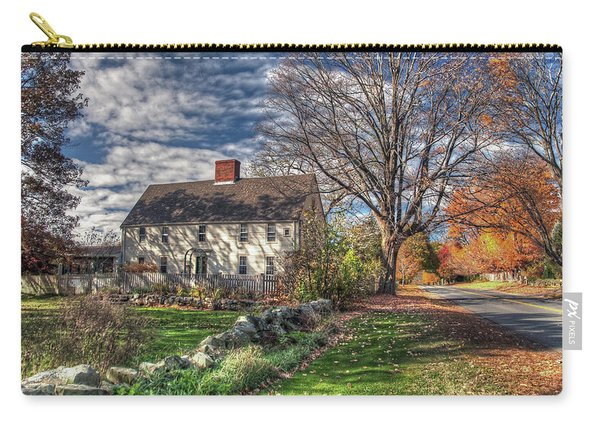 Noyes House In Autumn Carry-all Pouch