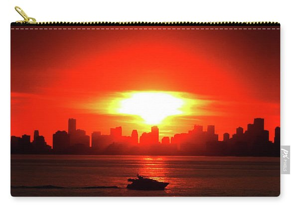 Nuclear Miami Sunset Carry-all Pouch