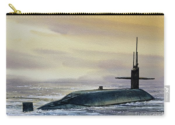 Nuclear Submarine Carry-all Pouch