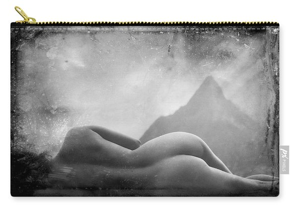 Nude At Chinaman's Hat, Pali, Hawaii Carry-all Pouch