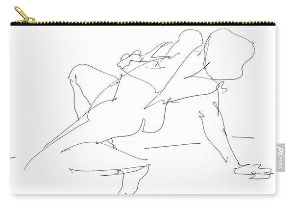 Nude-female-drawing-17 Carry-all Pouch