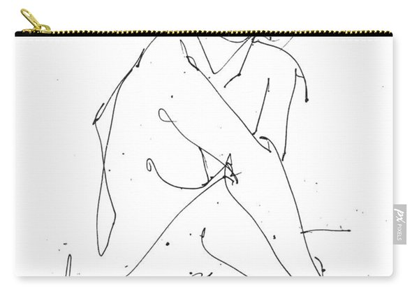 Nude-female-drawing-19 Carry-all Pouch
