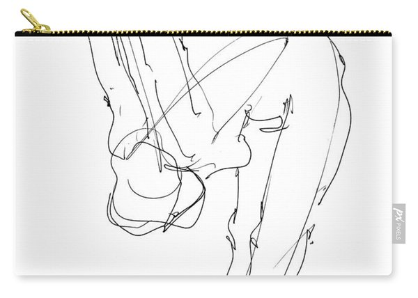 Nude Female Drawings 10 Carry-all Pouch