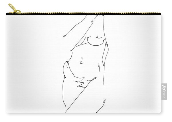 Nude Female Drawings 18 Carry-all Pouch