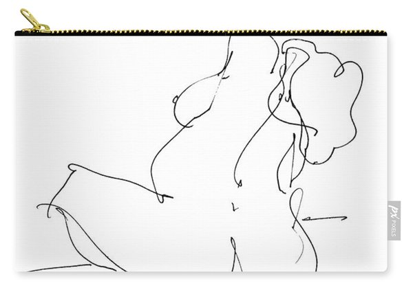 Nude-female-drawings-20 Carry-all Pouch