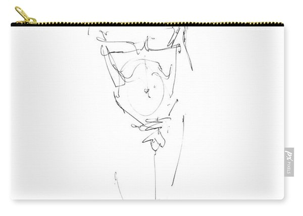 Nude Male Drawings 9 Carry-all Pouch
