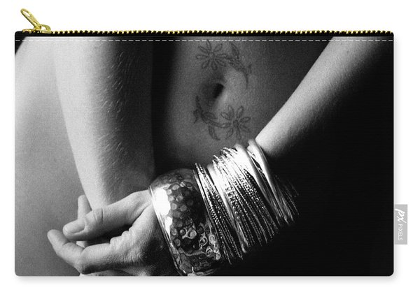 Nude Tattoo And Bangles Carry-all Pouch