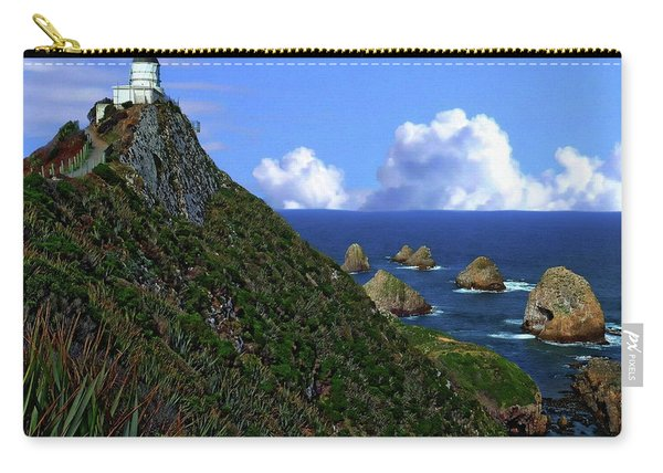 Nugget Point Lighthouse Carry-all Pouch