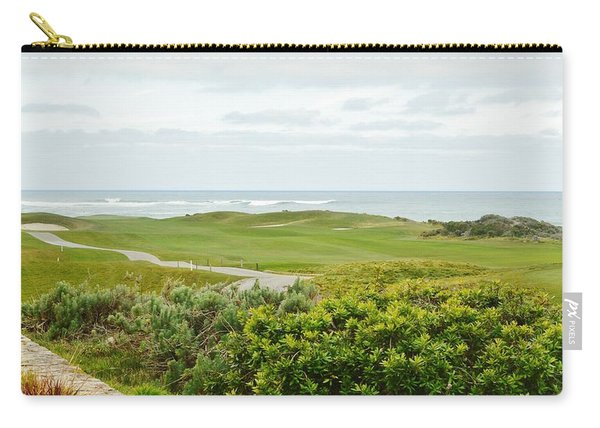 Number 1 From The Whites At Spanish Bay Carry-all Pouch