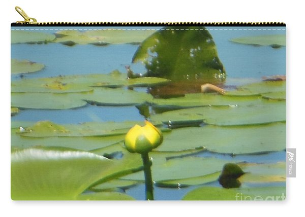 Nuphar Lutea Yellow Pond Carry-all Pouch
