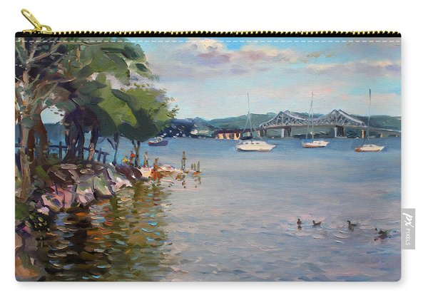 Nyack Park By Hudson River Carry-all Pouch