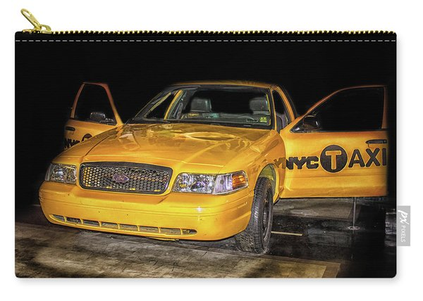 Nyc Cab Carry-all Pouch