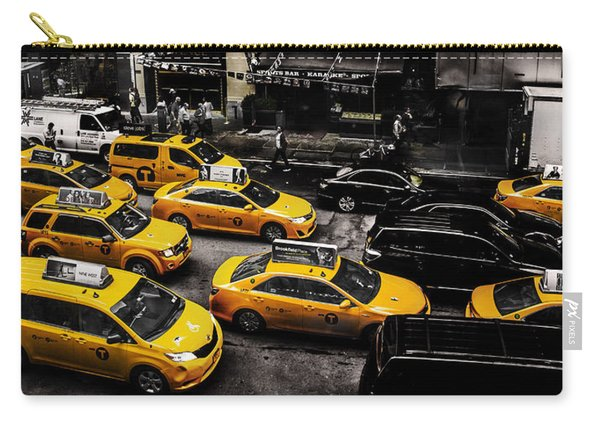 Nyc Cabs Carry-all Pouch