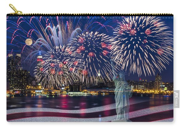 Nyc Fourth Of July Celebration Carry-all Pouch