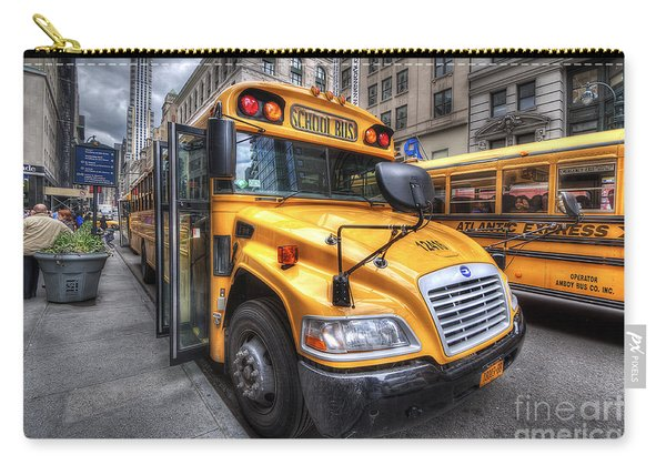 Nyc School Bus Carry-all Pouch