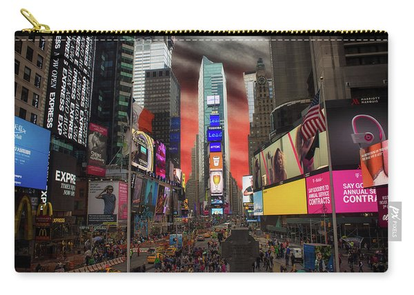 Nyc Times Square Carry-all Pouch