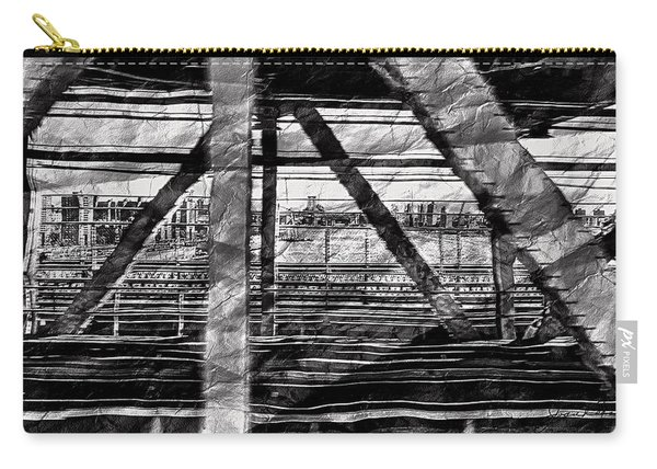 Nyc Train Bridge Tracts Carry-all Pouch