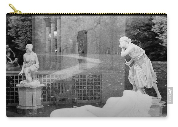 Nyc Whispering Statues Carry-all Pouch