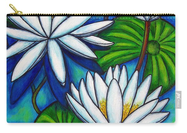 Nymphaea Blue Carry-all Pouch