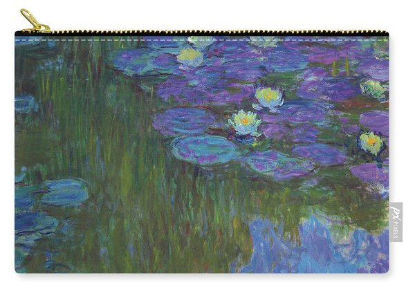 Nympheas En Fleur, 1914 To 1917  Carry-all Pouch