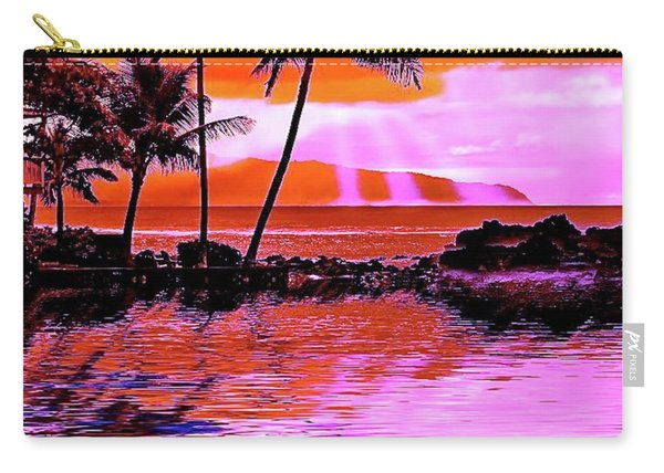 Oahu Island Carry-all Pouch