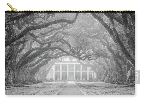 Oak Alley Fog Carry-all Pouch