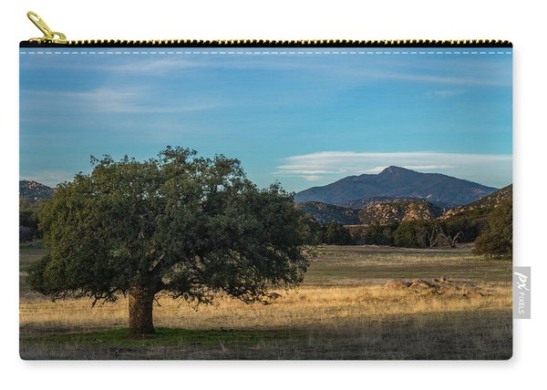 Oak And Cuyamaca Carry-all Pouch
