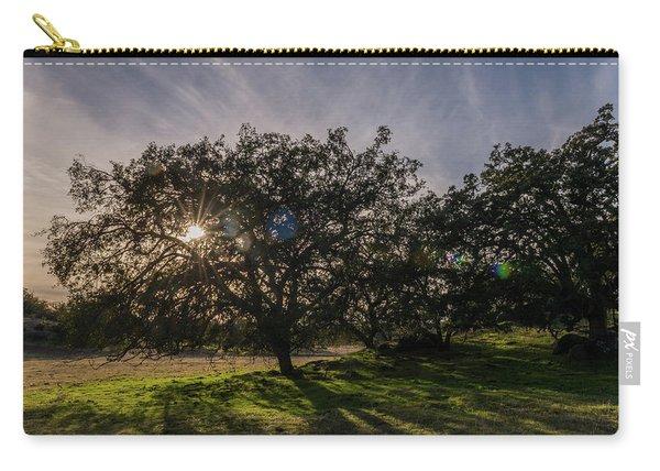 Oak Sunburst Carry-all Pouch