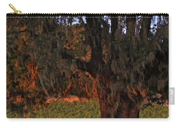 Oak Tree And Vineyards In Knight's Valley Carry-all Pouch
