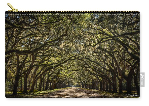 Oak Tree Tunnel Carry-all Pouch