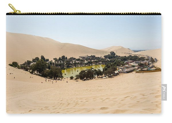 Oasis De Huacachina Carry-all Pouch