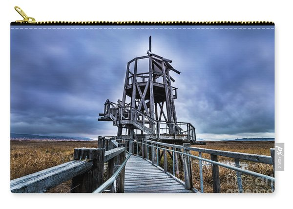 Observation Tower - Great Salt Lake Shorelands Preserve Carry-all Pouch