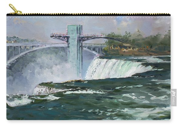 Observation Tower In Niagara Falls Carry-all Pouch