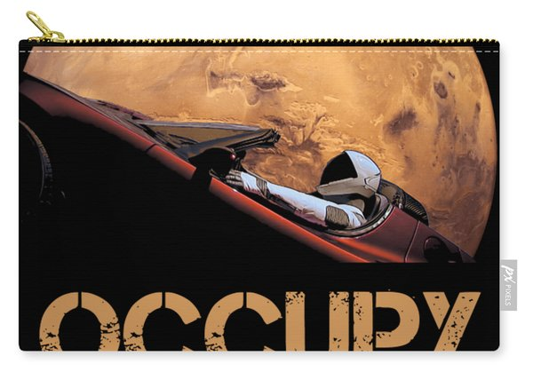 Occupy Mars Carry-all Pouch