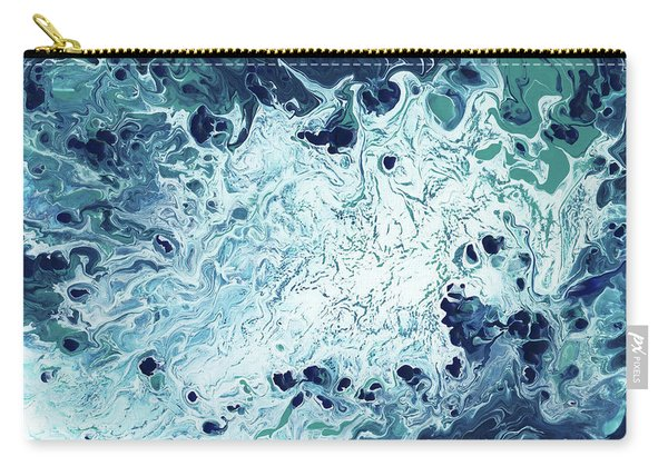 Ocean- Abstract Art By Linda Woods Carry-all Pouch