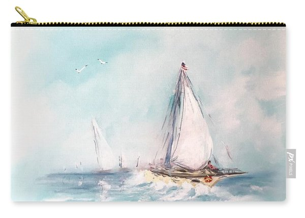 Ocean Blues Carry-all Pouch