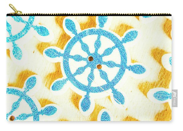Ocean Circles Carry-all Pouch