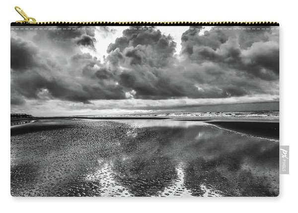 Carry-all Pouch featuring the photograph Ocean Clouds Reflection by Donnie Whitaker