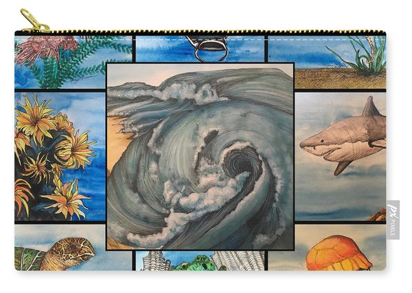 Ocean Collage #1 Carry-all Pouch