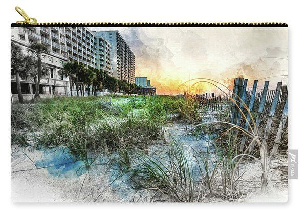 Ocean Drive Easter Sunrise Carry-all Pouch