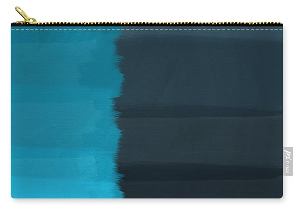 Ocean Front Walk- Art By Linda Woods Carry-all Pouch