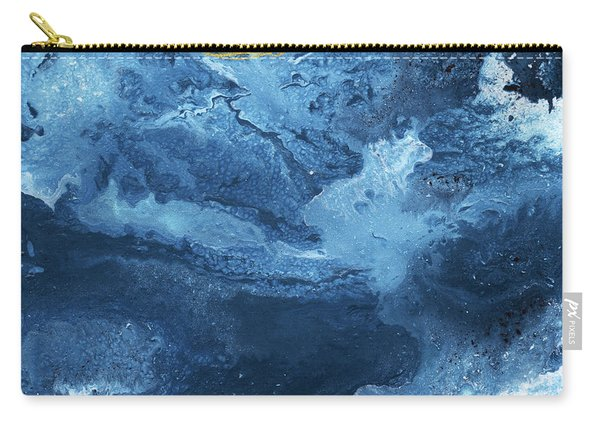 Ocean Gold- Abstract Art By Linda Woods Carry-all Pouch