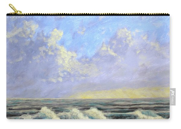 Ocean Storm Sunrise Carry-all Pouch