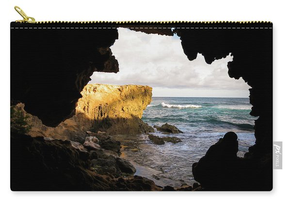Oceanfront Cave Carry-all Pouch