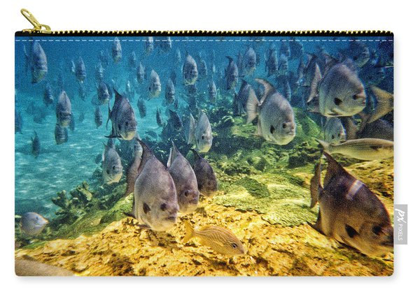 Oceans Below Carry-all Pouch