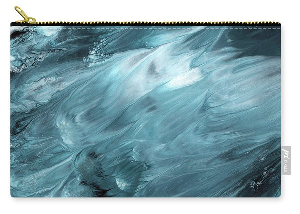 Oceanside 2- Art By Linda Woods Carry-all Pouch