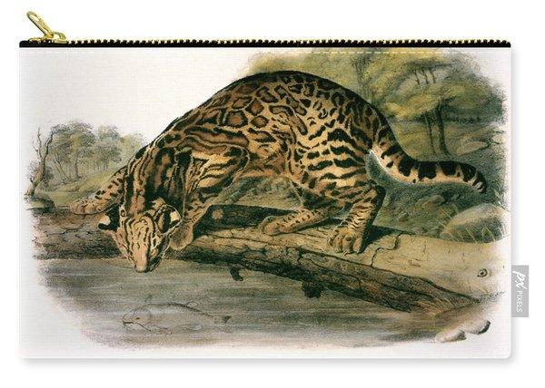 Ocelot (felis Pardalis) Carry-all Pouch