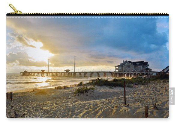 October 3 2016 Obx Sunrise Carry-all Pouch