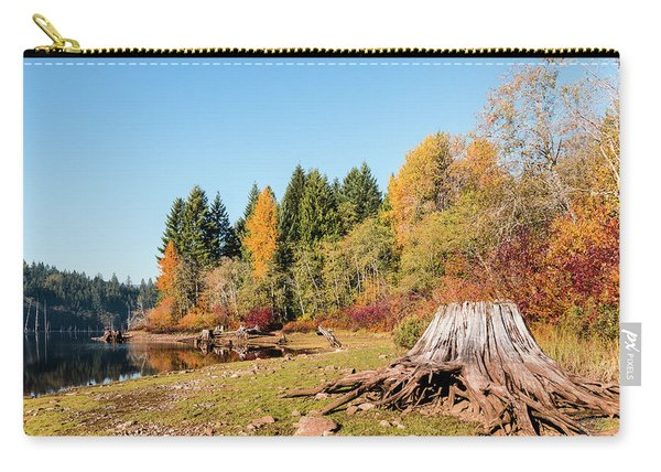 October On The Lake Shore Carry-all Pouch